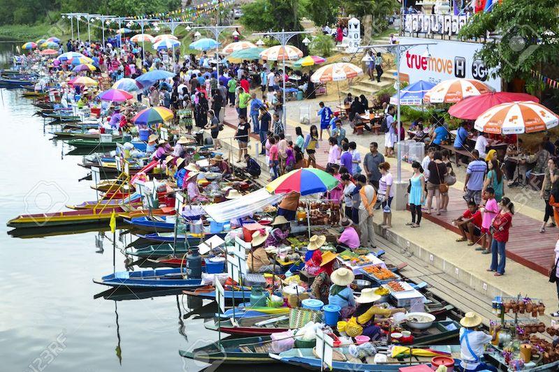 Floating market Klonghae