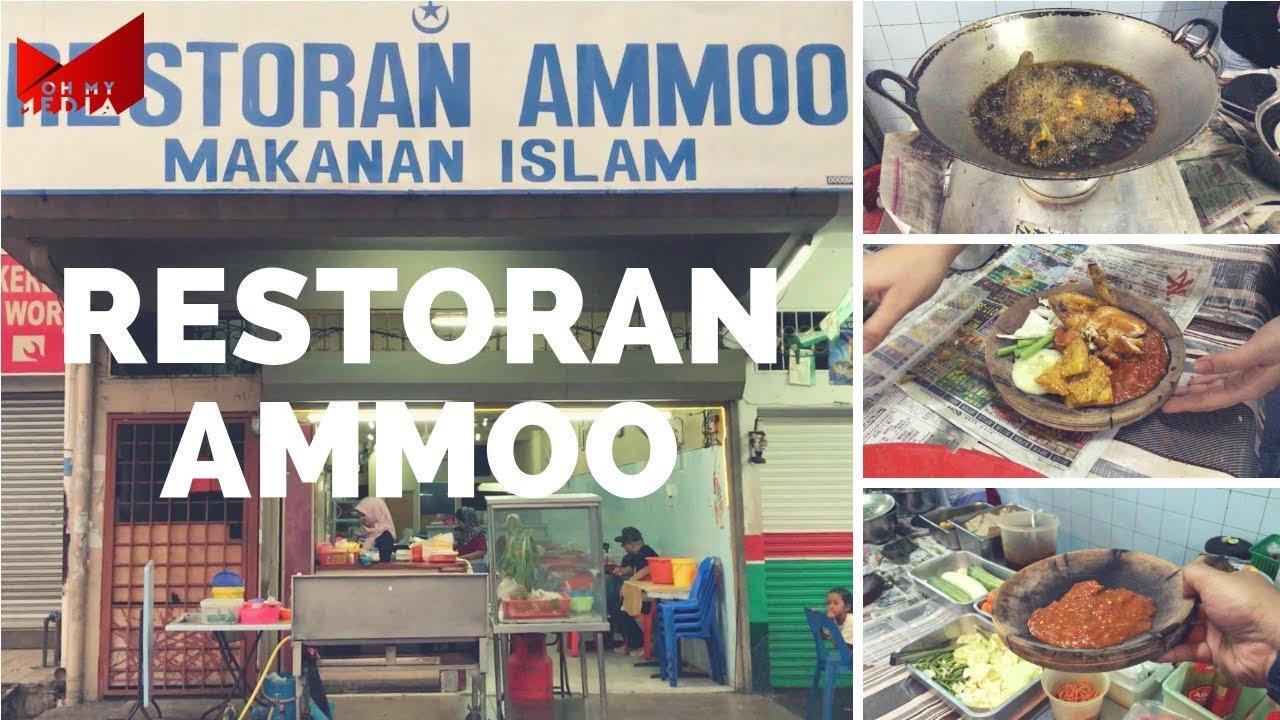 Pecel Lele Abah, Restoran Ammoo, Jalan Besar Ampang