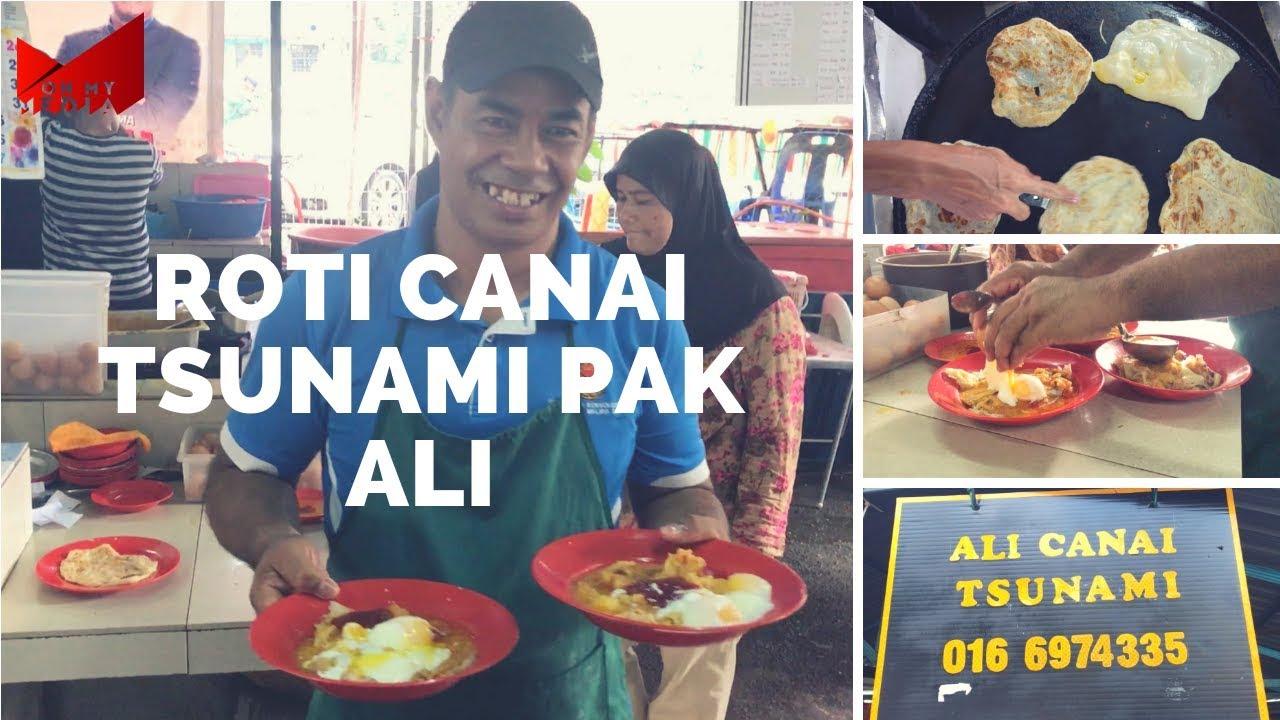 Roti Tsunami Pak Ali, Pantai Dalam Kuala Lumpur