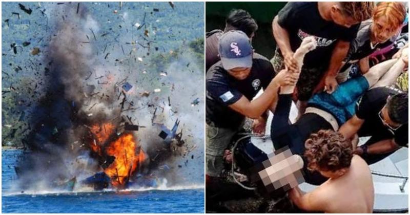 collage bom ikan