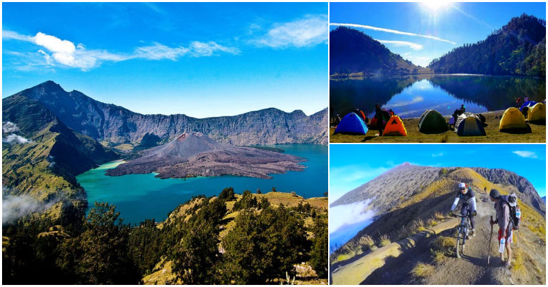 collage gunung rinjani