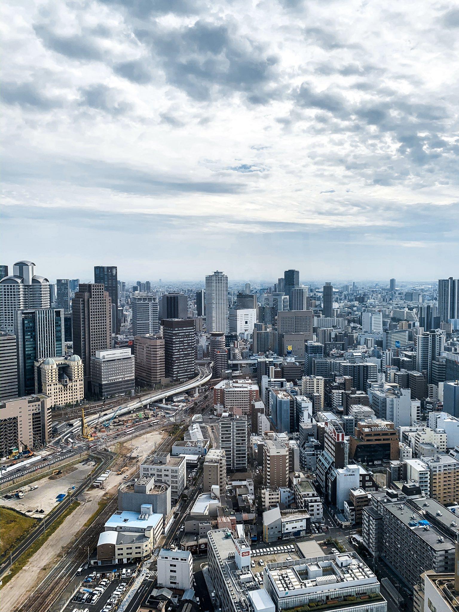 Day 3 Umeda's views of Osaka2